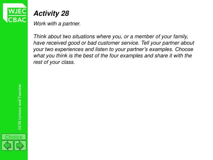 Activity 28
