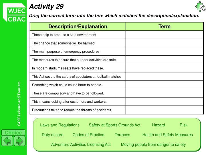 Activity 29