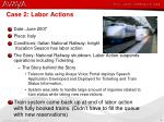 case 2 labor actions