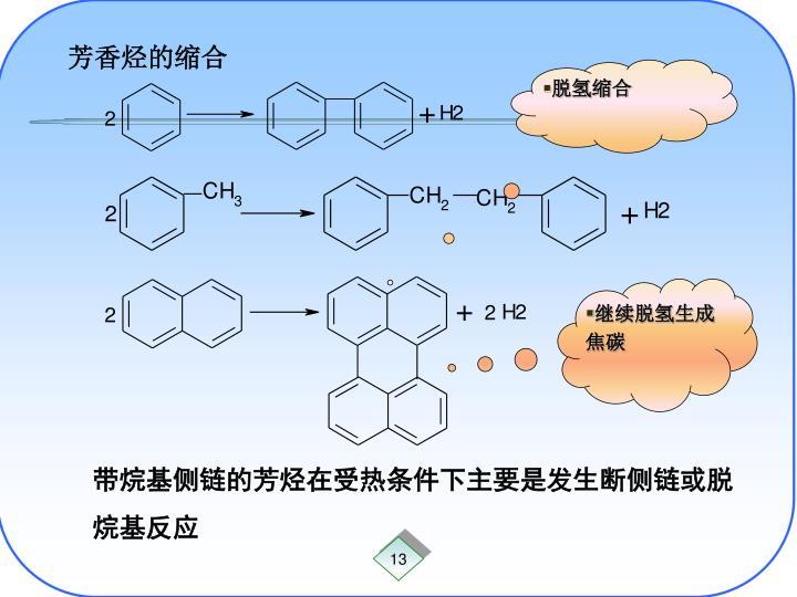 芳香烃的缩合