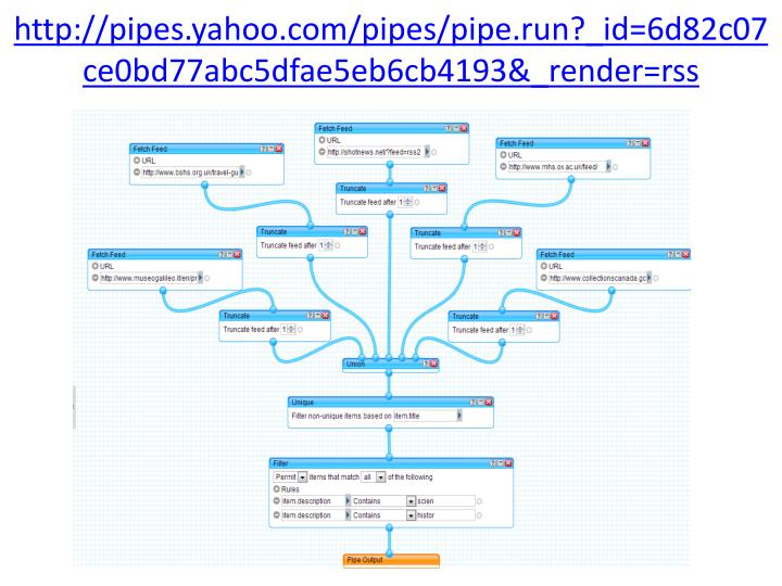 http://pipes.yahoo.com/pipes/pipe.run?_id=6d82c07ce0bd77abc5dfae5eb6cb4193&_render=rss