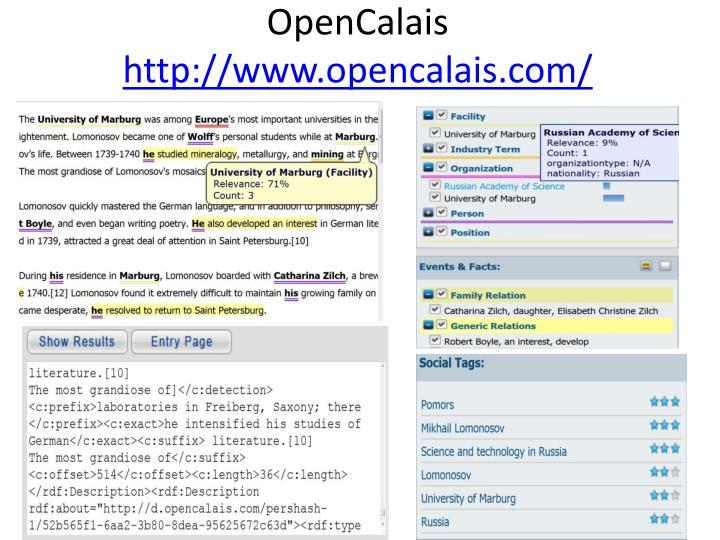 OpenCalais