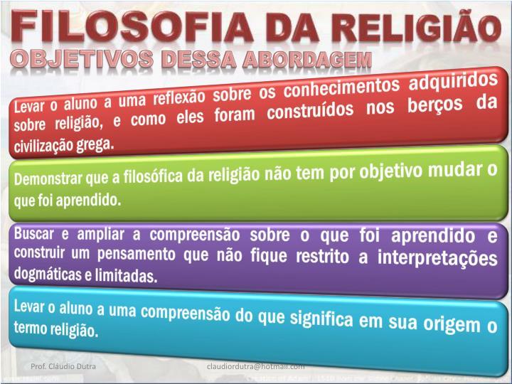 OBJETIVOS DESSA ABORDAGEM