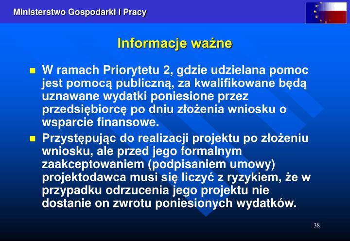 Informacje ważne