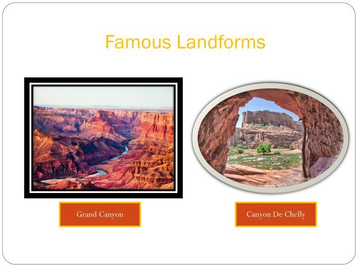 Famous Landforms
