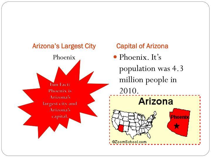 Arizona's Largest City