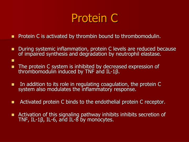 Protein C