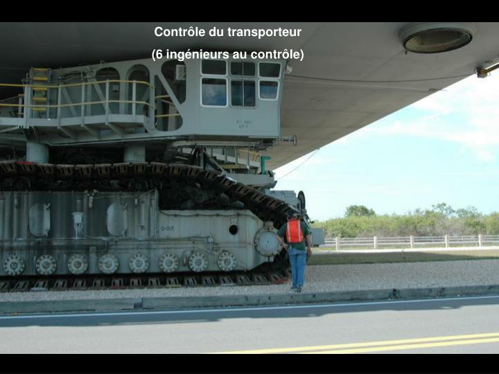 Contrôle du transporteur