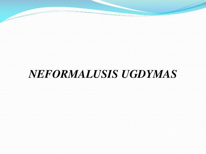 NEFORMALUSIS UGDYMAS