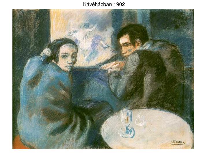 Kávéházban 1902