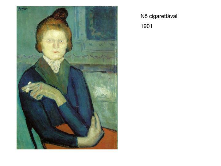 Nő cigarettával