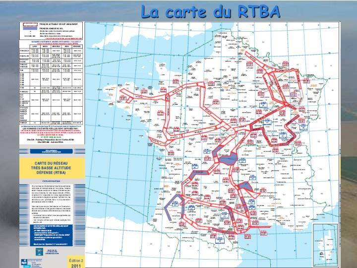La carte du RTBA