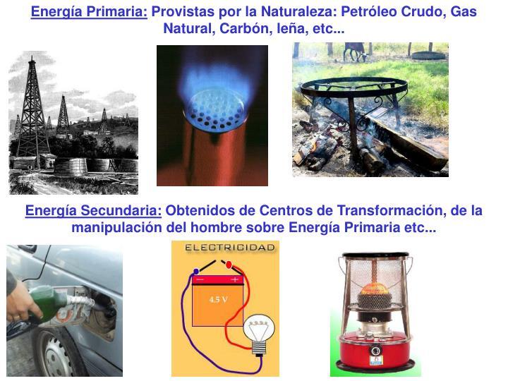 Energía Primaria: