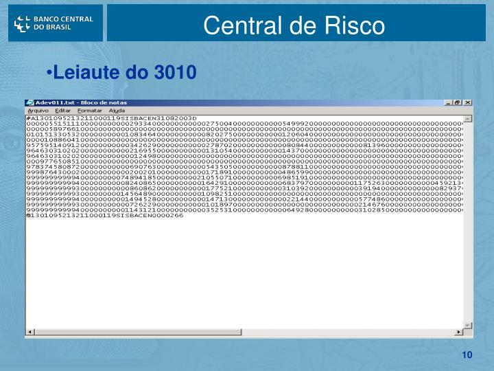 Central de Risco