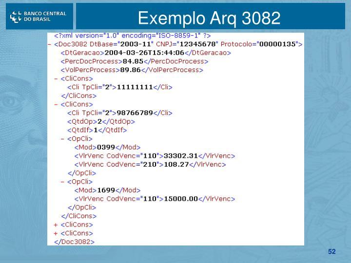 Exemplo Arq 3082