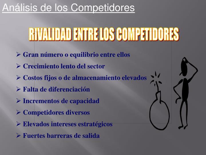 Análisis de los Competidores