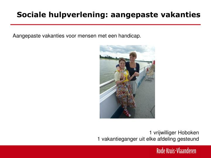 Sociale hulpverlening:
