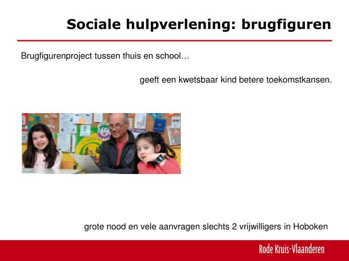 Sociale hulpverlening: brugfiguren