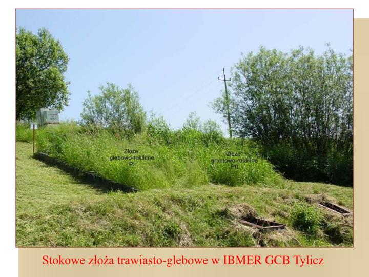 Stokowe złoża trawiasto-glebowe w IBMER GCB Tylicz