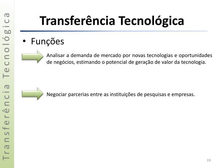 Transferência Tecnológica