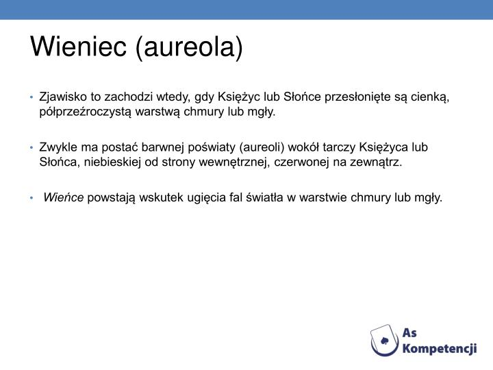 Wieniec (aureola)