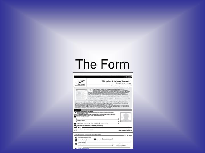 The Form