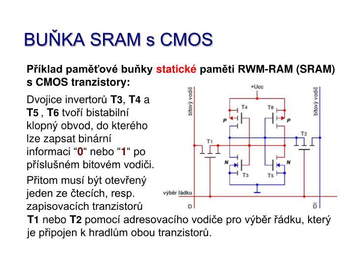 BUŇKA SRAM s CMOS