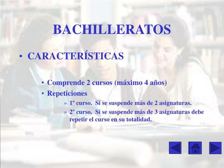 BACHILLERATOS