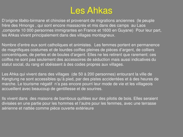 Les Ahkas
