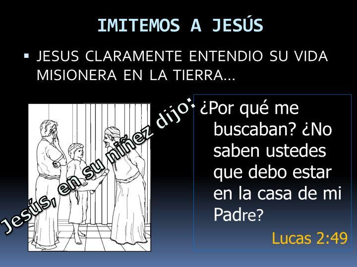 IMITEMOS A JESÚS
