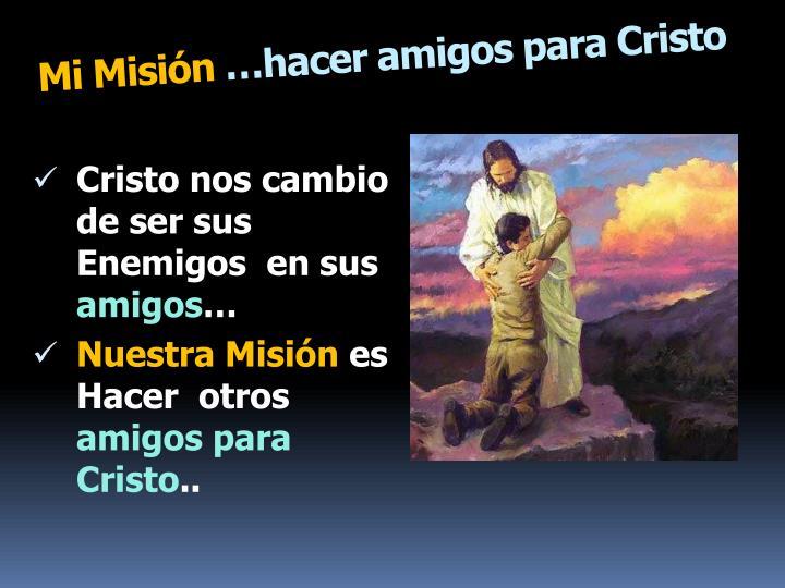 Mi Misión