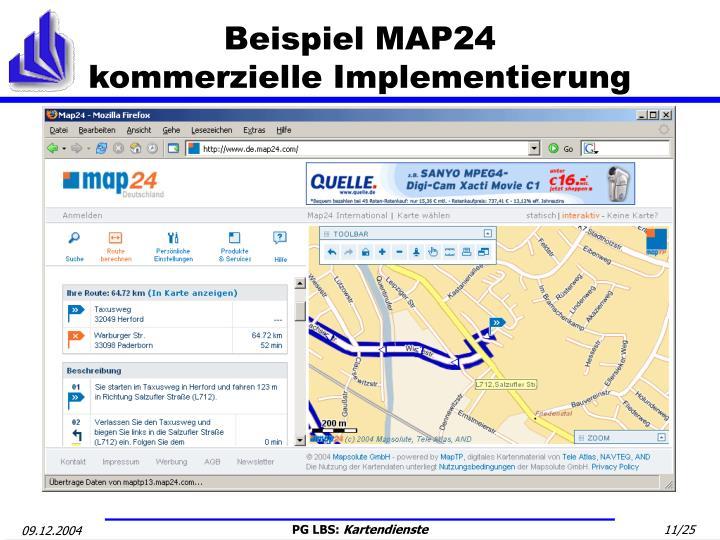 Beispiel MAP24