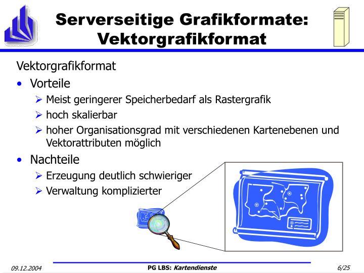 Serverseitige Grafikformate: