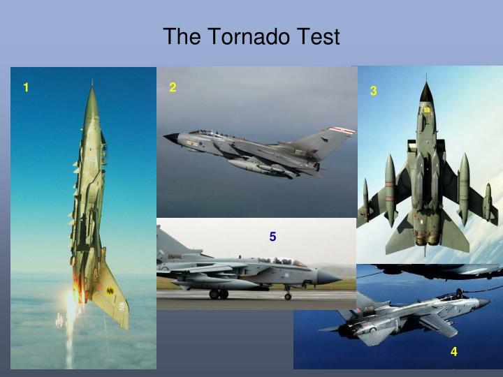 The Tornado Test