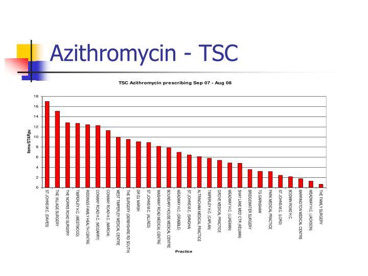 Azithromycin - TSC