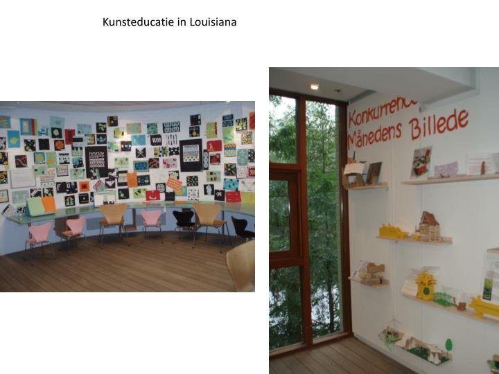 Kunsteducatie in Louisiana