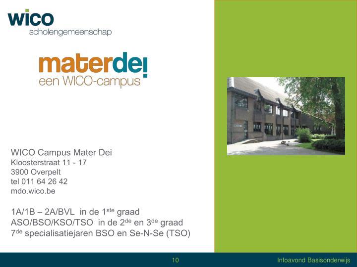 WICO Campus Mater Dei
