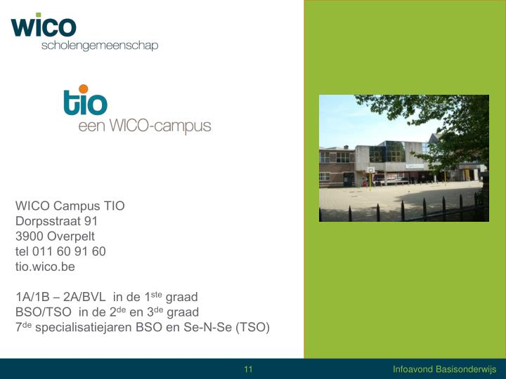 WICO Campus TIO