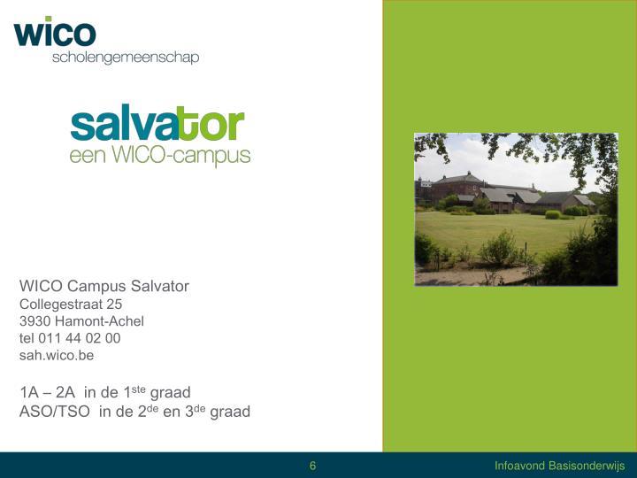 WICO Campus Salvator