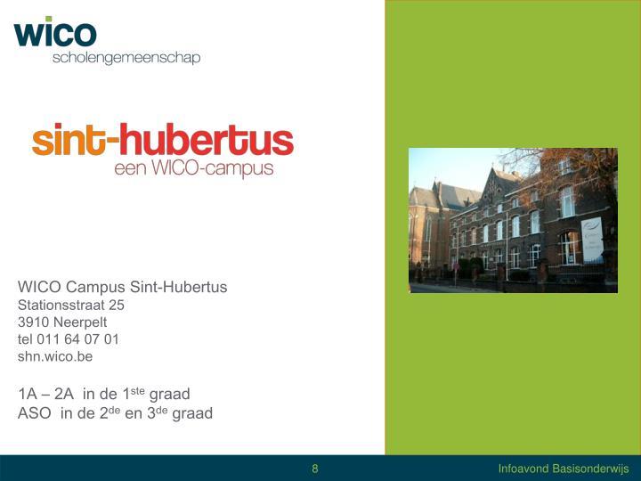 WICO Campus Sint-Hubertus