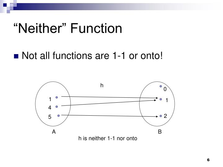 """Neither"" Function"