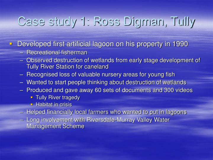 Case study 1: Ross Digman, Tully