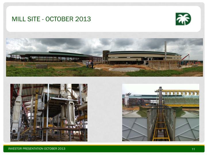 Mill site - oCTOBER 2013