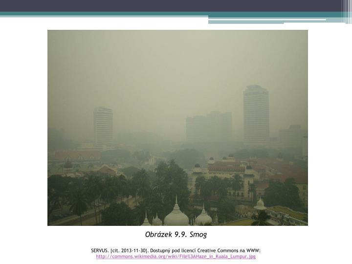 Obrázek 9.9. Smog