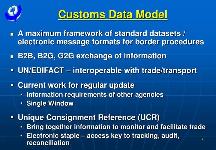 Customs Data Model
