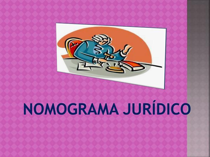 NOMOGRAMA JURÍDICO