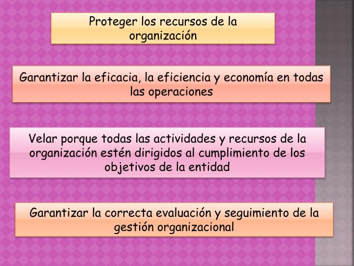 Proteger los recursos de la organización