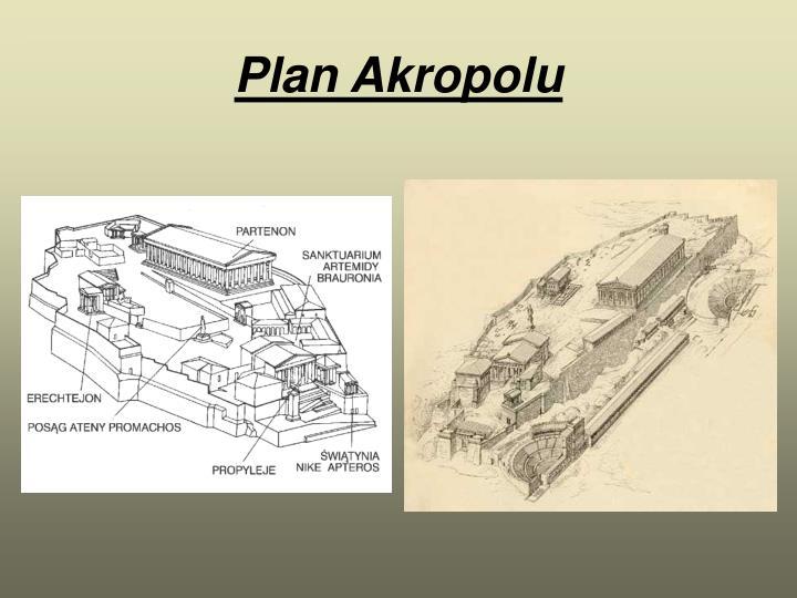 Plan Akropolu
