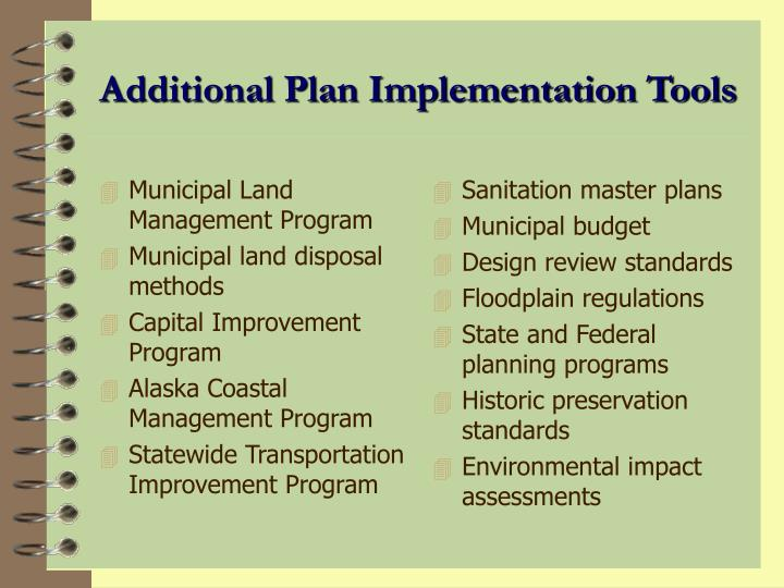 Municipal Land Management Program