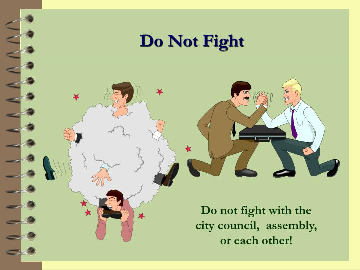 Do Not Fight